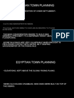 Egyptian Town Planning