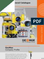 GeoMax General Catalogue 2009 2010