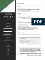 Letter_Minimal CV Resume 3pack 2