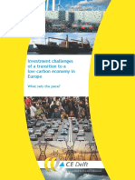 CE Delft - Investment challenges of a transition to a low-carbon economy in Europe.pdf