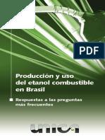 Producción y uso del etanol combustible en Brasil