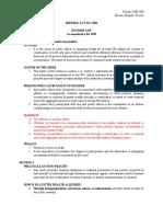 RA 7080 Written Report