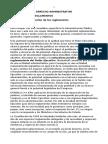 Bolilla 10 - Los Reglamentos Administrativos