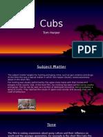 Cubs- BSR Characteristics