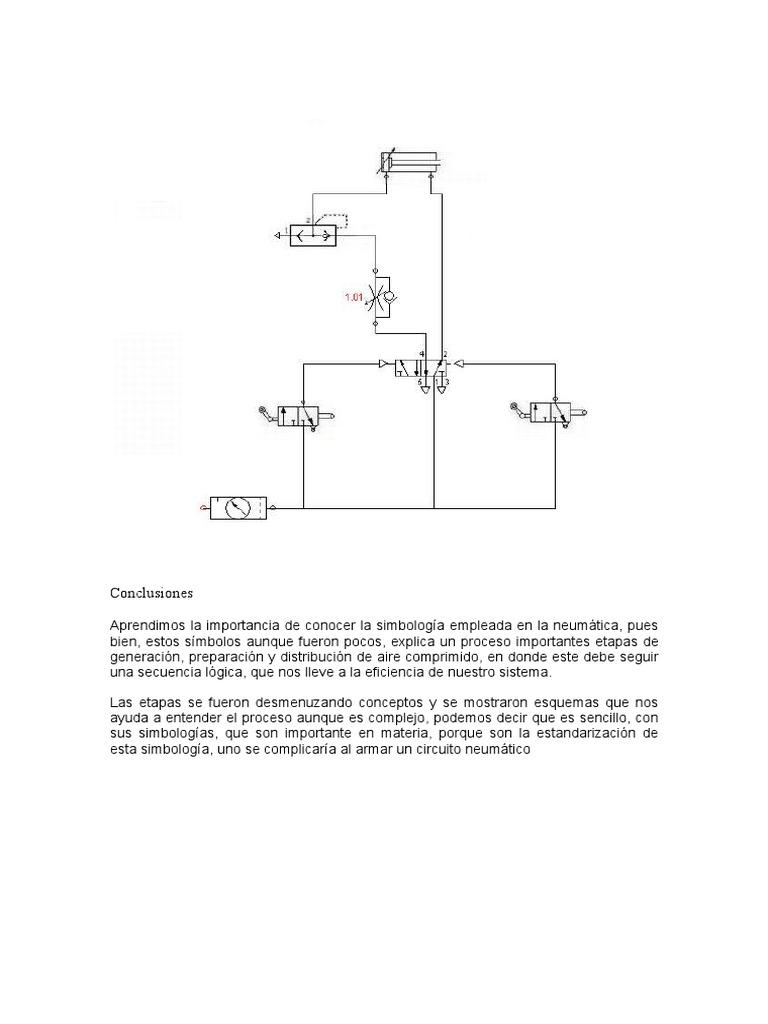 Circuito Neumatico Basico : Neumatica conclusiones