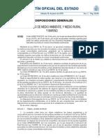 Por la que se desarrolla el artículo 6 de la Ley 3-2010, de 10 de marzo, por la que se aprueban medidas urgentes para paliar los daños producidos por los incendios forestales y otras catástrofes naturales