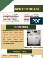 Ultrasentrifugasi