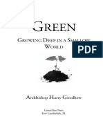 Green by Archbishop Harry Goodhew - Chapter 1