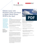 Dttl Technology DeloitteElizabethArdenOracle