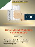 MECANICA de SUELOS Presentación 10_Rocas Almacenadora y Rocas Sello