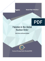 Pakistan in the Global Nuclear Order