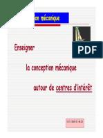 Conception Mecanique_cours Magister2009