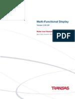 MFD RADAR User Manual (Ed.2)