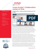 Avaya Scopia Desktop and Web Collaboration-UC7411FR