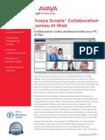 Avaya Scopia Desktop and Web Collaboration-UC7411FR