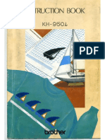 Brother Manual Kh950i