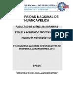Bases Expoferia Tecnologica Agroindustrial