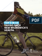 New Brunswick Medical Society Healthy Initiatives Report