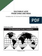 acido sulfanilico