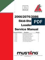 Manual de Servicio Mustang 2066, 2076, 2086