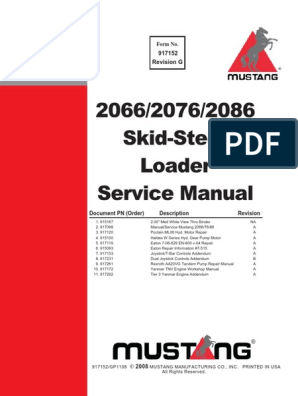 manual de servicio mustang 2066, 2076, 2086 motor oil 2008 tvs scooty pep plus wiring diagram muscle car wiring harness wiring library
