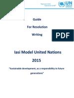Iasi Mini MUN 2015 Guide for Resolution writing.pdf