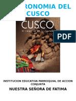 Gastronomia Del Cusco