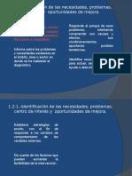 1.2.1.-Identificaciòn de Necesidaes y Problemas