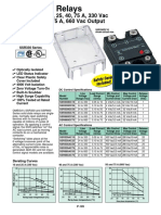 Omega Solid State Relays catalog