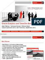 Oracle Exalytics BestPractices