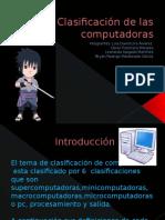 Clasificación de Las Computadoras 2