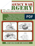 Emergency War Surgery - The Survivalist's Medical Desk Reference