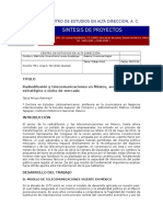 Radiodifusión y telecomunicaciones en México, sector estratégico o nicho de mercado