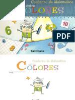 Cuaderno de Matematicas Entre Colores
