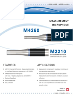 M2210 M4260 Product Data
