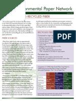 Recycledfiberfactsheet EPN