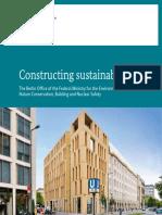 Gebaute Nachhaltigkeit Broschuere en Bf