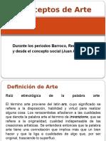 Arte Barroco y Renacimiento