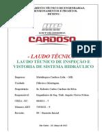 Laudo de Vistoria e Inspecao Guincho Articulado MLC-2555 - Metalurgica Cardoso 03-16