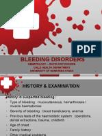 Bleeding Disorder 2