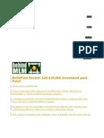 BeOnPush Review- $20-$10,000 investment pack Ponzi