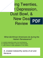great depression review