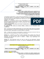 21.01.17 Resolução SE 4-2017 Idade Mínima Para Matrícula EJA