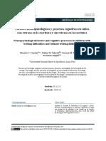 FactoresNeuropsicologicosYProcesosCognitivos