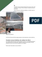 Energias Renovables Paneles Solares