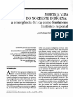 Morte e Vida Do Nordeste Indígena