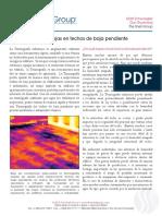 Inspecciones Infrarrojas en Techos de Baja Pendiente 02-2013