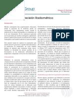Mejorando La Precision Radiometrica