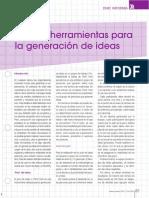 Nuevas Herramientas Para La Generación de Ideas.2011