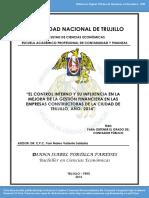 Control Interno Y Gestion Financiera